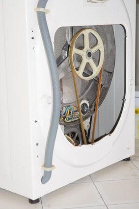 Panneau arrière de lave linge