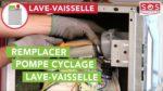 Comment remplacer la pompe de cyclage de mon lave-vaisselle
