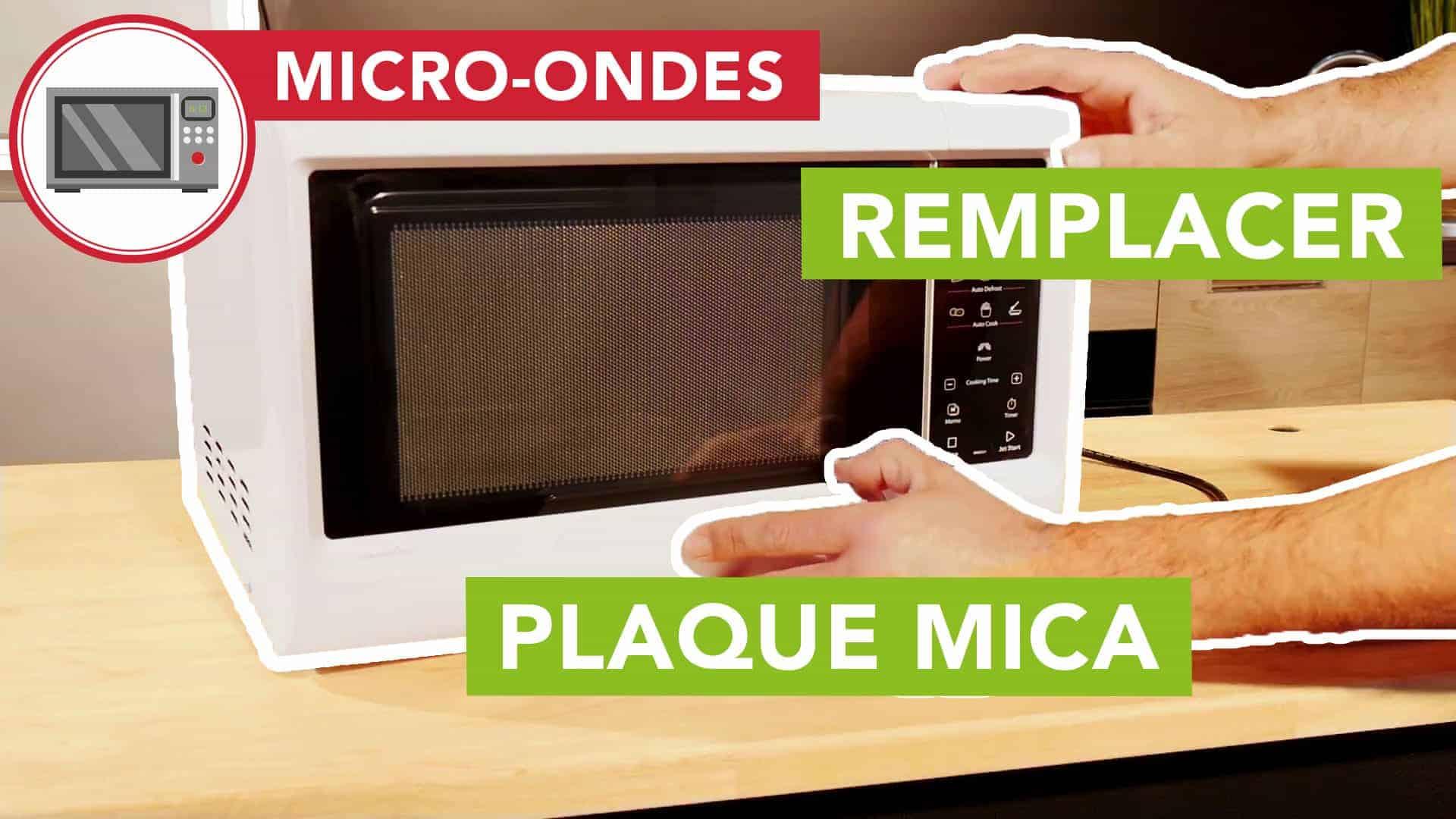 Demonter Plaque De Cuisson Electrique micro-ondes : comment changer la plaque mica d'un micro-ondes ?