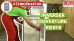 Comment inverser le sens d'ouverture de la porte du frigo ?