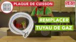 Comment et quand remplacer le tuyau de gaz d'une plaque de cuisson ?