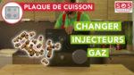 Comment changer les injecteurs de gaz ?
