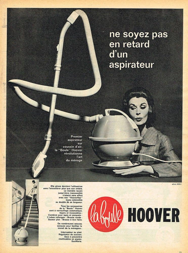 Aspirateur Hoover ancien