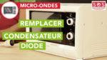 Comment remplacer le condensateur de son micro-ondes