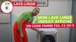 Pourquoi mon lave-linge Indesit Hotpoint Ariston Scholtès affiche un code panne F5 ?desit