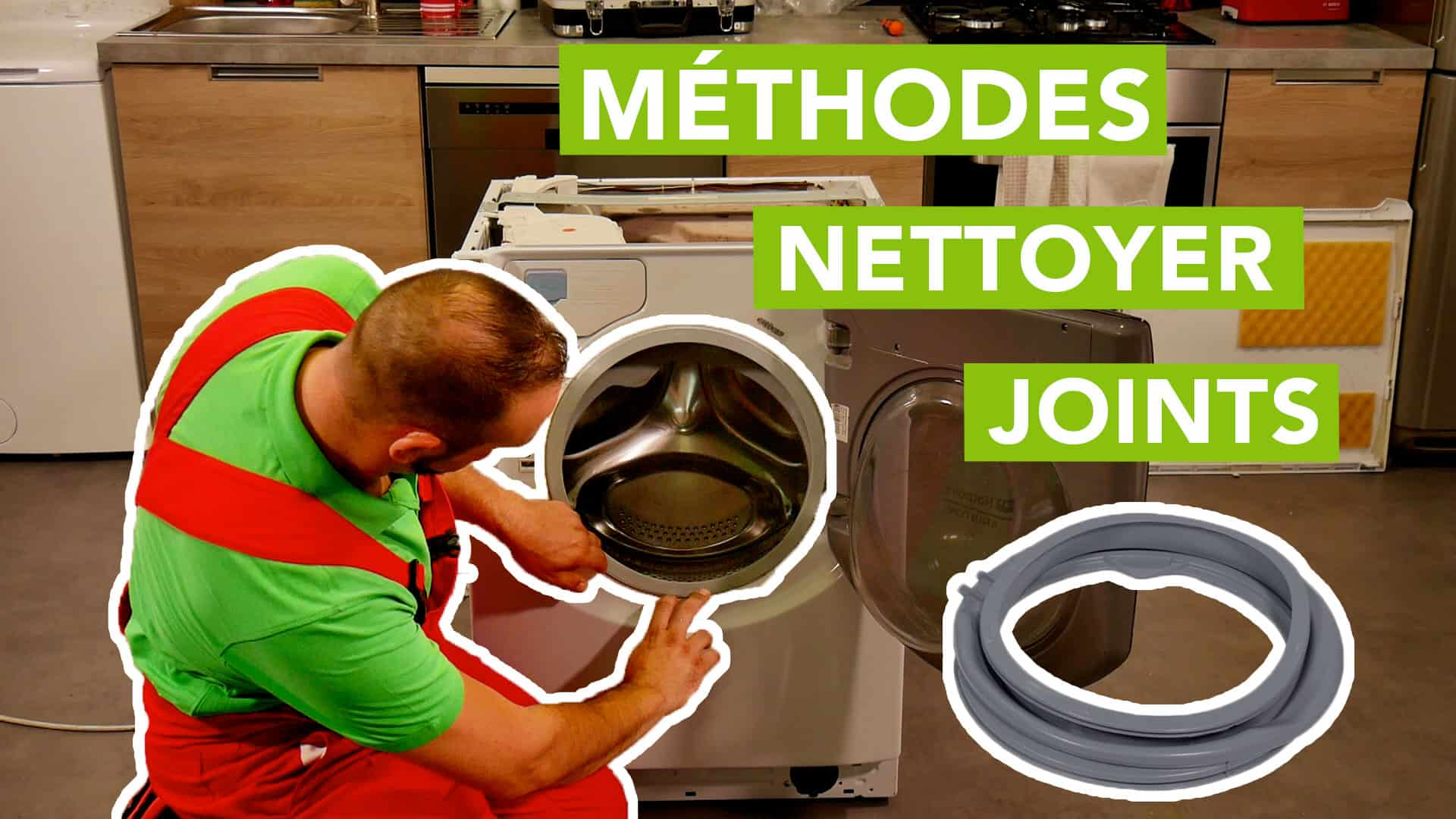 Nettoyage De La Machine À Laver 4 méthodes pour nettoyer facilement les joints en caoutchouc !