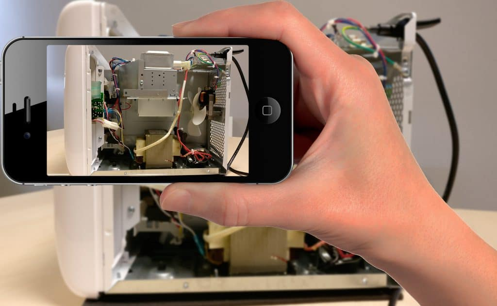 smartphone-micro-ondes