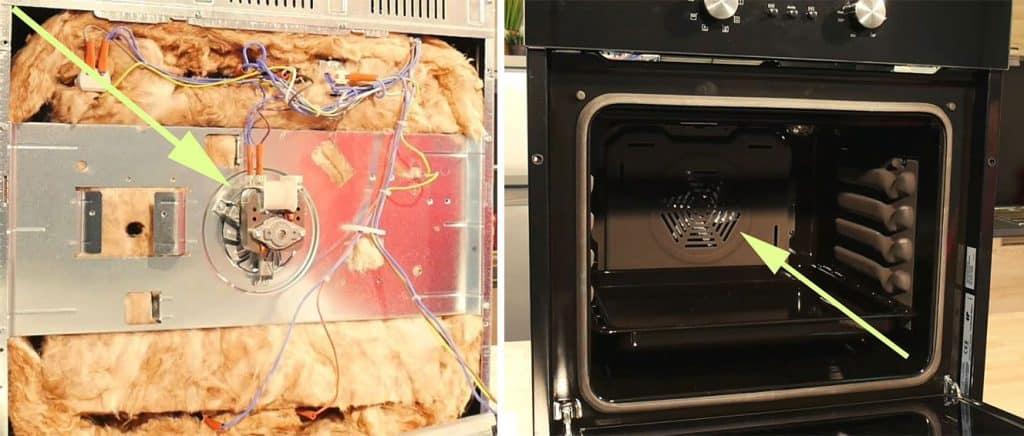 comment tester et remplacer le moteur de chaleur tournante d 39 un four. Black Bedroom Furniture Sets. Home Design Ideas