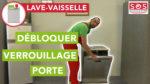 Comment débloquer le verrouillage d'une porte de lave-vaisselle