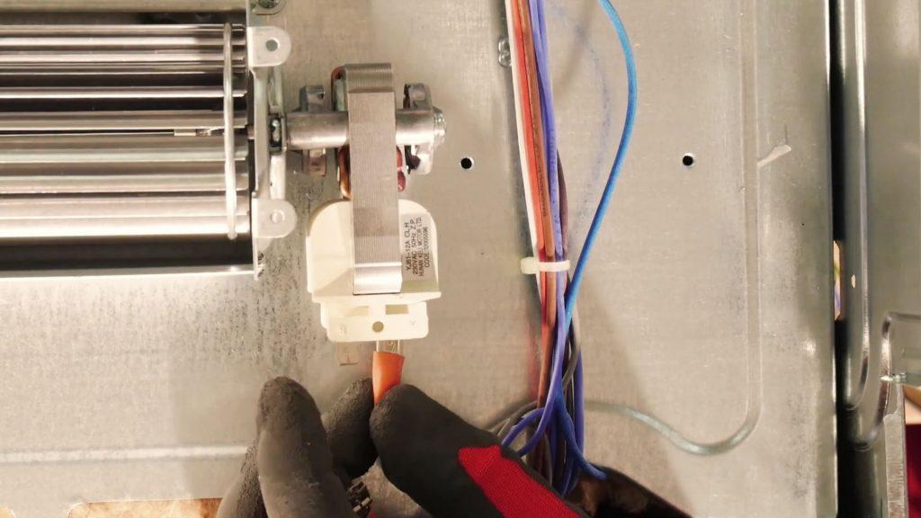 reconnectez-ventilateur-four