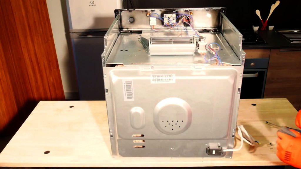 four démonté ventilateur de refroidissement cuisine