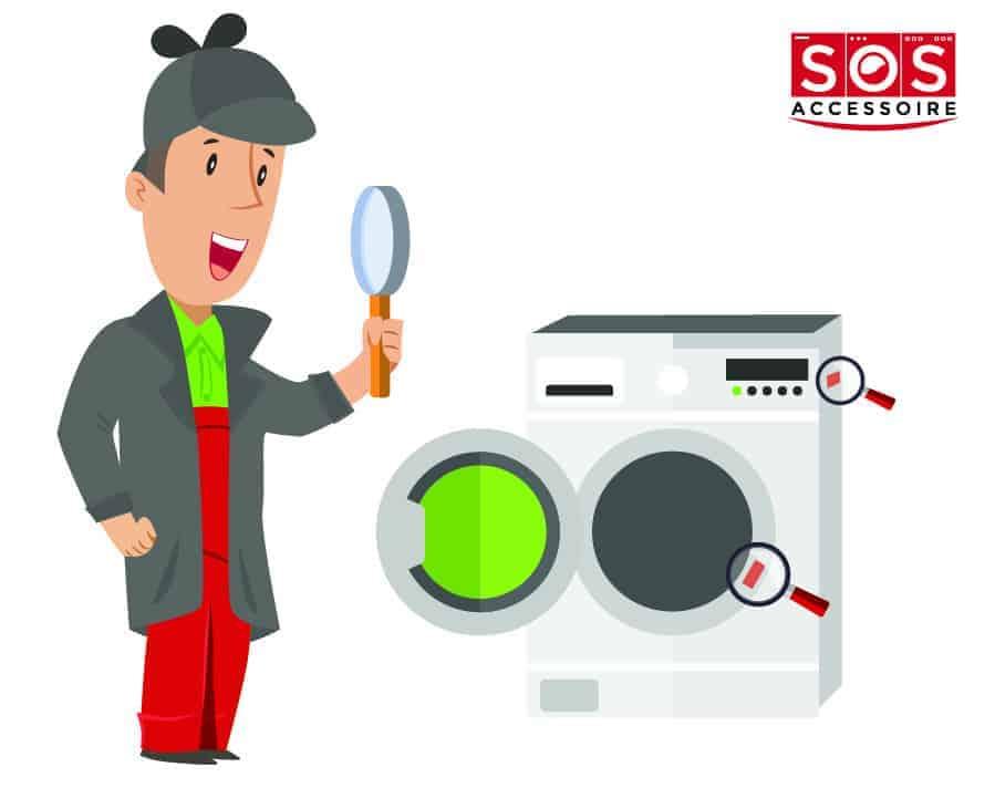 Localiser la plaque signalétique sur un sèche-linge à hublot ou frontal