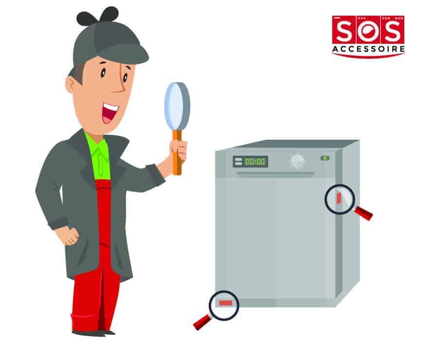 Localiser la plaque signalétique sur un lave-vaisselle