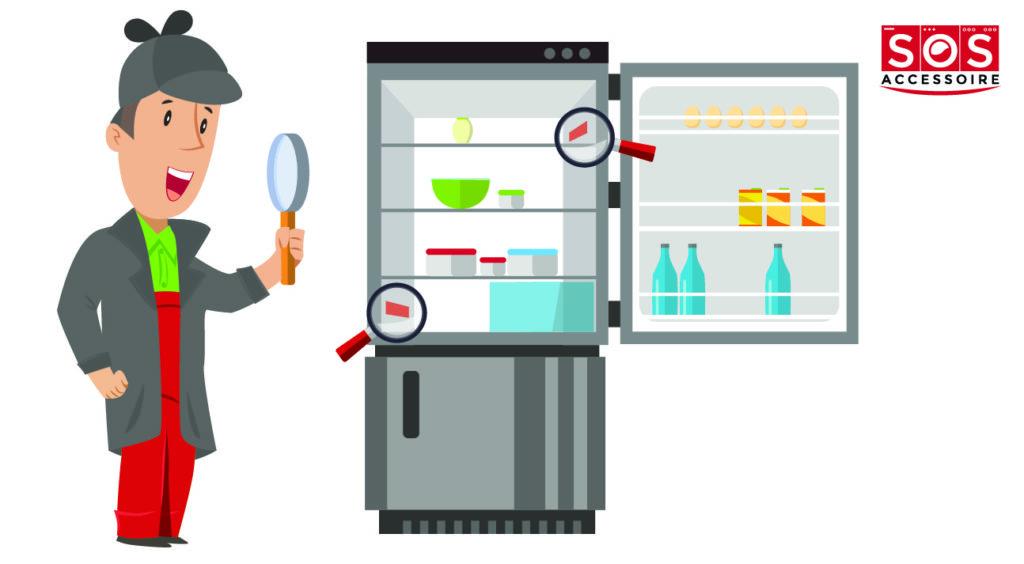 Localiser la plaque signalétique sur un réfrigérateur combiné