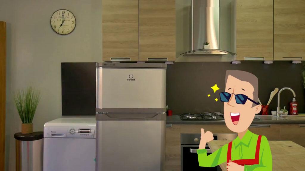 Votre joint de frigo est correctement intégré