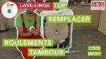 Comment remplacer le roulement de tambour de mon lave-linge - coté droit