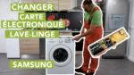 Comment replacer la carte électronique d'un lave-linge Samsung