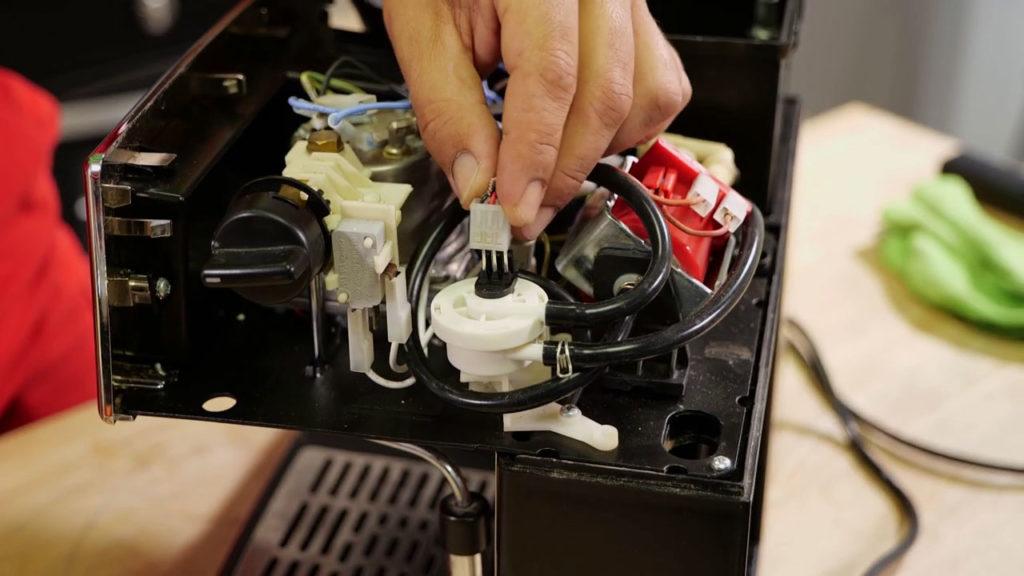 Rebrancher câble électrique