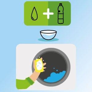 Nettoyez les parois du joint de votre lave-linge