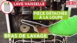 Pièce détachée à la loupe : Bras de lavage lave vaisselle