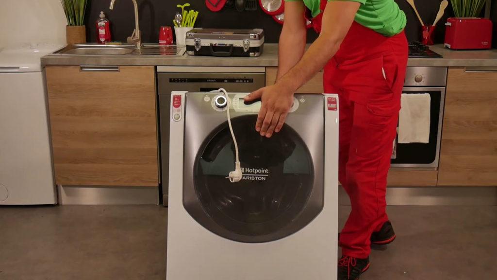 Redresser le lave-linge