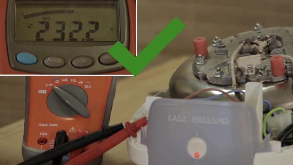 Tester la bonne alimentation électrique de la chaudière