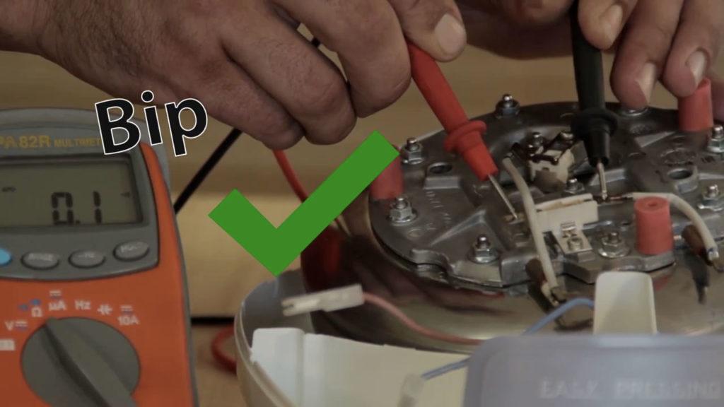 Testez le thermostat de la chaudière de Centrale Vapeur