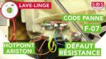 Résoudre code panne f07