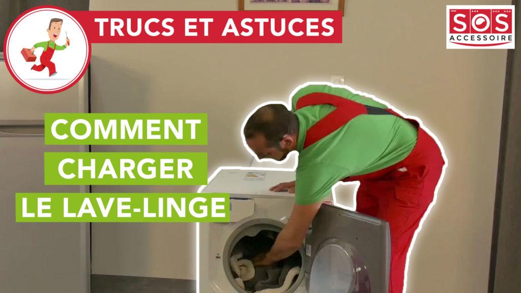 Comment charger correctement le lave-linge