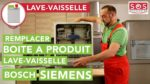 Comment remplacer la boite à produits d'un lave-vaisselle