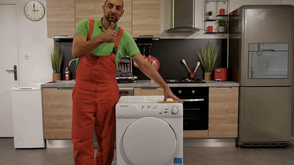 Vous avez remplacé le condensateur de votre sèche-linge avec succès !
