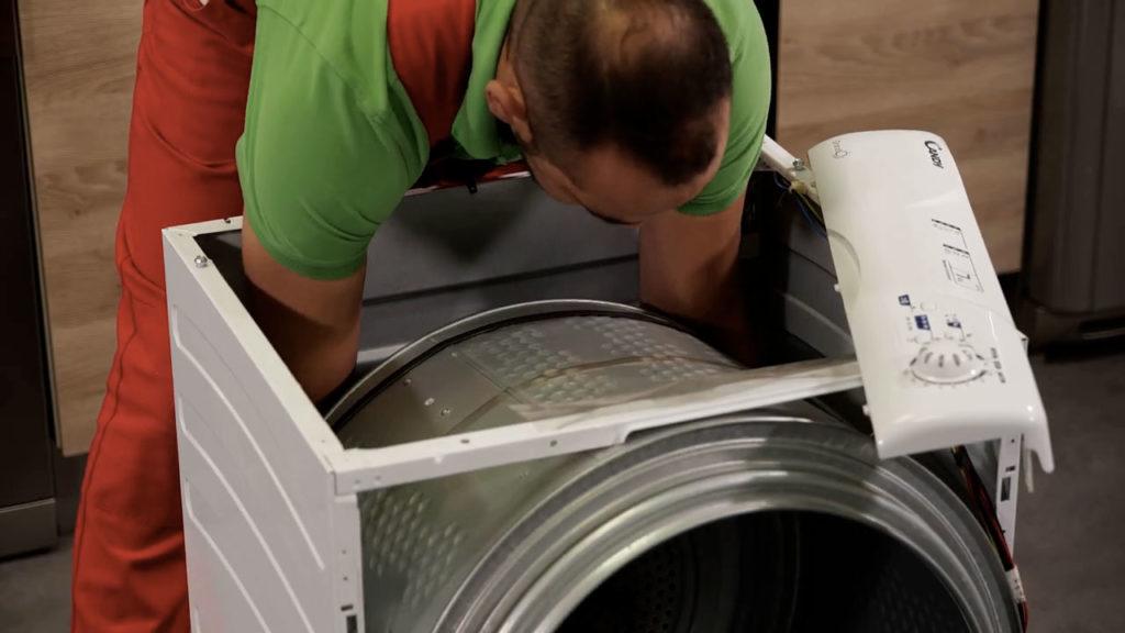 Replacez le tambour et la courroie de votre sèche-linge