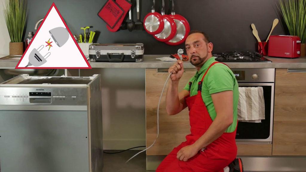 Débrancher votre lave-vaisselle