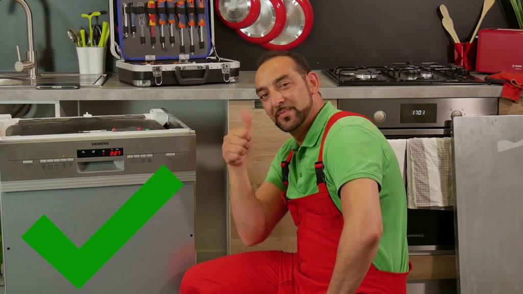 Panne E14 sur mon lave-vaisselle résolue !