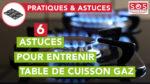Les plaques de cuisson gaz doivent être entretenues régulièrement pour assurer leur bon fonctionnement. Nous vous indiquons 6 astuces pour les entretenir.