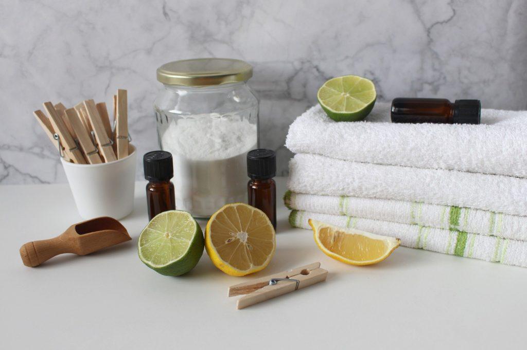 Usage du citron pour le soin du linge