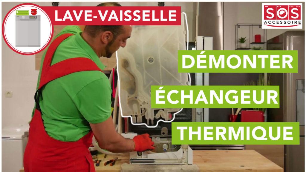 Comment démonter l'échangeur thermique de votre lave-vaisselle Bosch/ Siemens