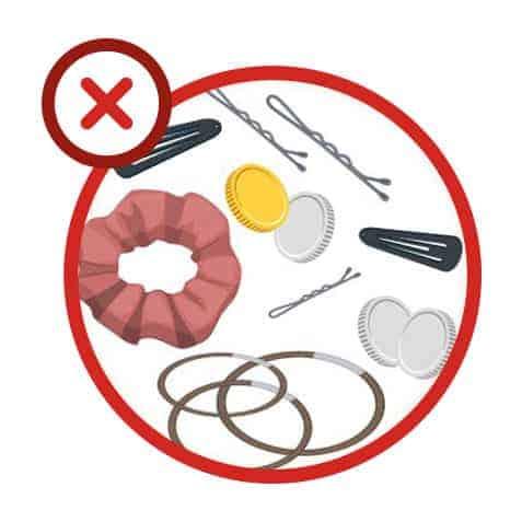 Erreur n°3 : vider les poches pour éviter que des objets se retrouvent dans le filtre de vidange