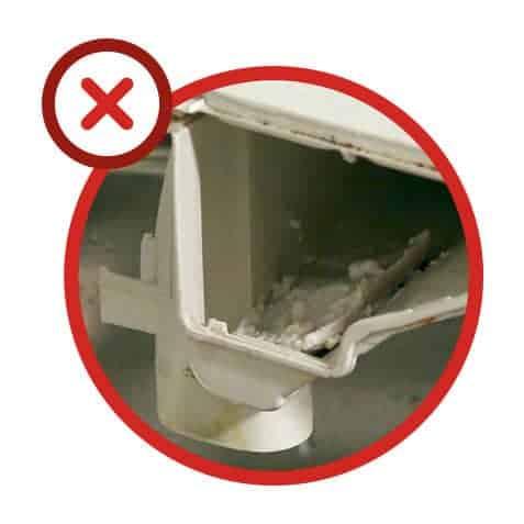 Erreur n°7 : l'entretien du lave-linge est négligé
