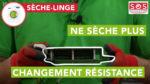 Mon sèche-linge top sèche mal : comment tester et remplacer la résistance ?