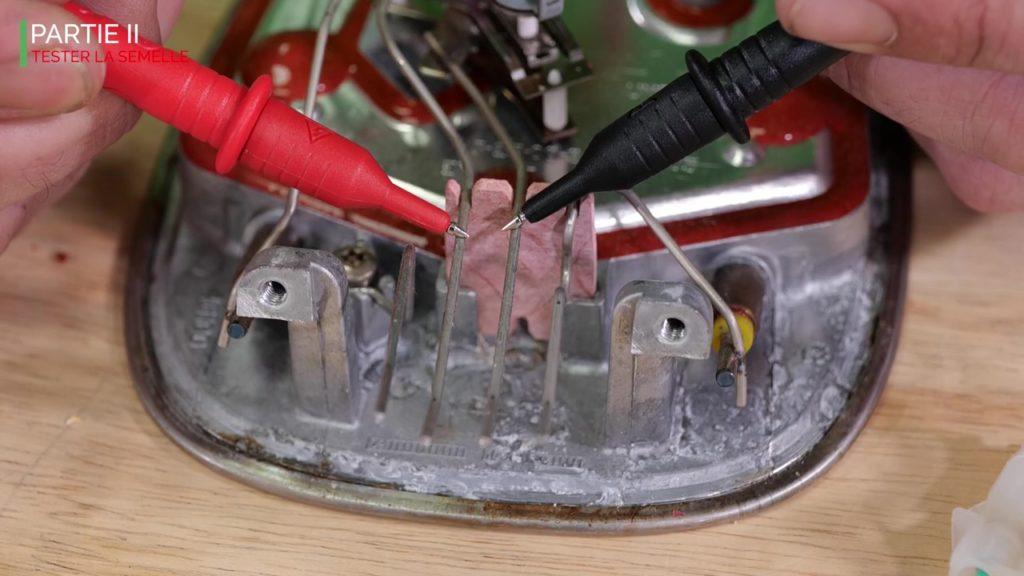Contrôler la réaction du thermostat grâce au multimètre