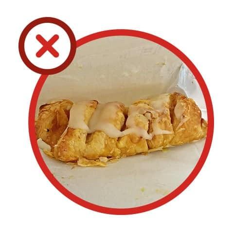 Erreur 7 : papier alimentaire au micro-ondes
