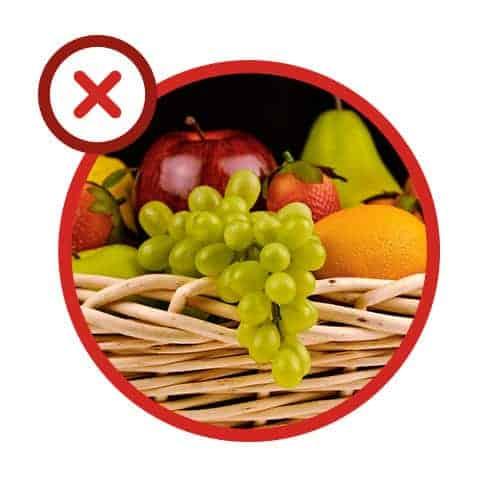 Erreur 5 : tenter de cuire des fruits dans le micro-ondes