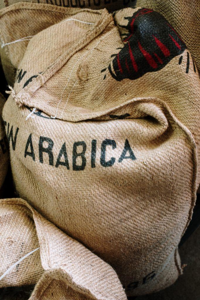 sac de café arabica