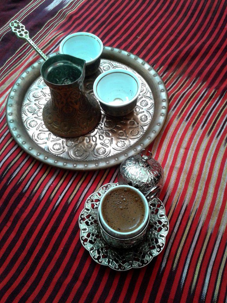 café préparé à la turque