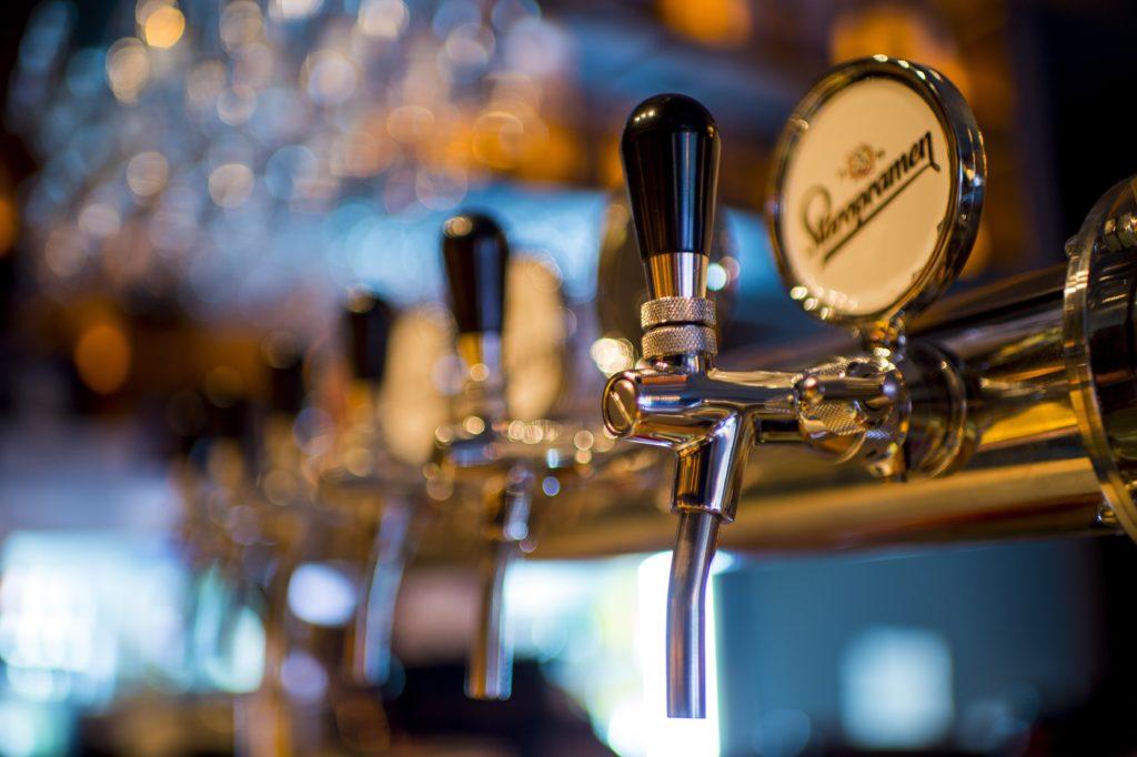 Bec de service de tireuse à bière
