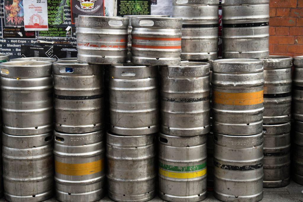 Stockage de fût de bière