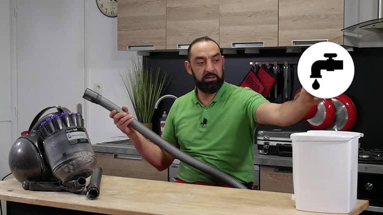 Tester le flexible de votre aspirateur dyson