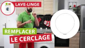 Comment remplacer le cerclage externe de son lave-linge à hublot ?