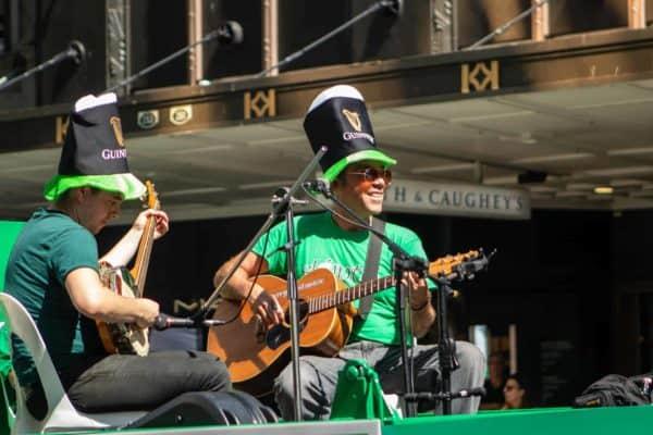 Fête de la St Patrick en Irlande